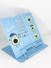 Подставка для книг металлическая Авокадо