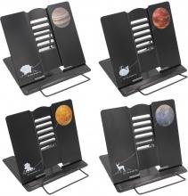 Подставка для книг металлическая Планеты