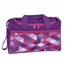 """Детская спортивная сумка Herlitz XL""""PINK CUBES"""""""