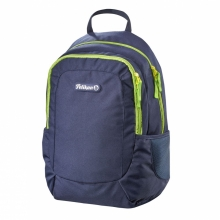 Рюкзак Pelikan Navy Blue/Lime, 45x30x17 см