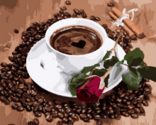 Картина по номерам Доброе утро