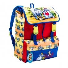 """Школьный рюкзак Tiger Family """"Слоники"""" красный"""