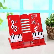Подставка для книг металлическая Piano 9008А Red