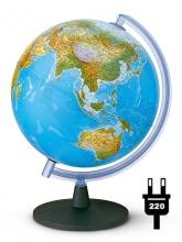 """Глобус Tecnodidattica """"Фалькон"""" (физич./политич.) с подсветкой. d40 cm"""