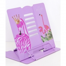Подставка для книг металлическая Фламинго MQ1876-1