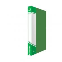 Папка 2 кольца inФОРМАТ, зеленая