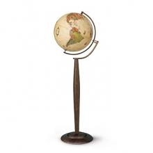 """Глобус Nova Rico """"Сильвия Antique"""" (антик.) с подсветкой. d37 cm"""