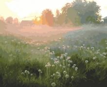 Картина по номерам Утренний туман 40х50см.