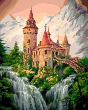 Картина по номерам Сказочный замок 40х50см.