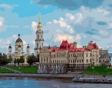 Картина по номерам Архитектура России 40х50см.