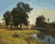Картина по номерам Река Гнилица 40х50см.