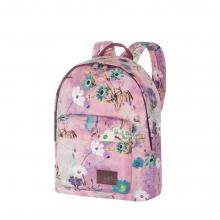 Рюкзак Asgard Р-5736 Цветы Пастель лилово-розовый