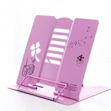 Подставка для книг металлическая Clover 1868 Pink