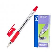 Ручка шариковая Pilot BPS-G, 0,32мм, красная