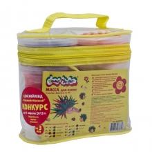 Масса для лепки, 8 цветов, сумка