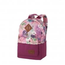 Рюкзак Asgard Р-5333Д Цветы пастель лилово-розовый .