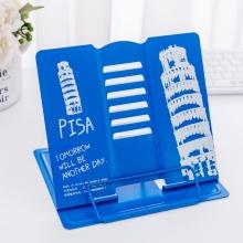 Подставка для книг металлическая Travel 8890 Pisa Blue