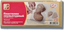 Пластилин скульптурный. Цвет телесный, в индивидуальной полиэтиленовой упаковке 500 гр.