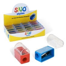 "Точилка Sivo ""Pressfit"", одинарная с контейнером."