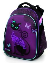 """Школьный рюкзак Hummingbird Teens """"Black Cats"""" Т71"""