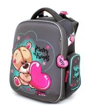 "Школьный ранец Hummingbird Kids TK65(Gr) ""Forever friends""+мешок для обуви"